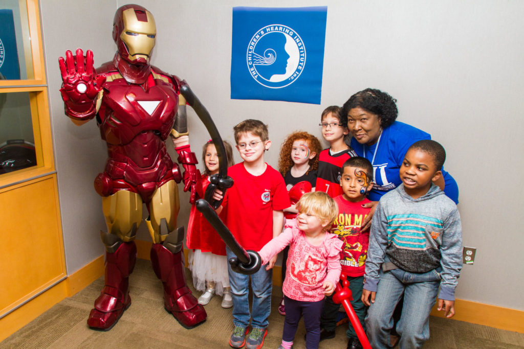 Iron Man saves the day at kids birthday party