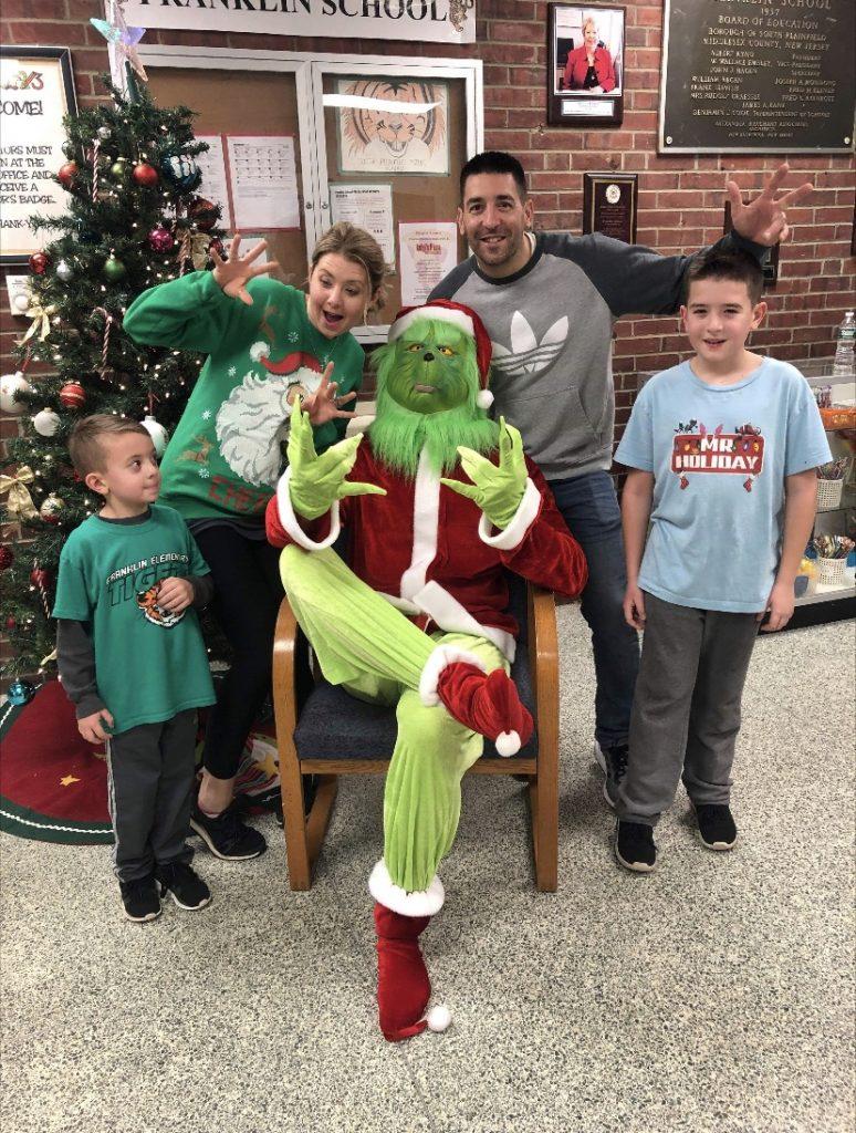 Grinch steals Christmas at Franlklin school