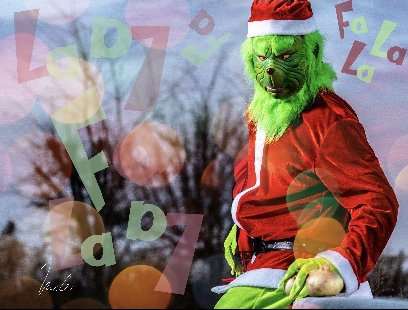 Grinch stealing Christmas