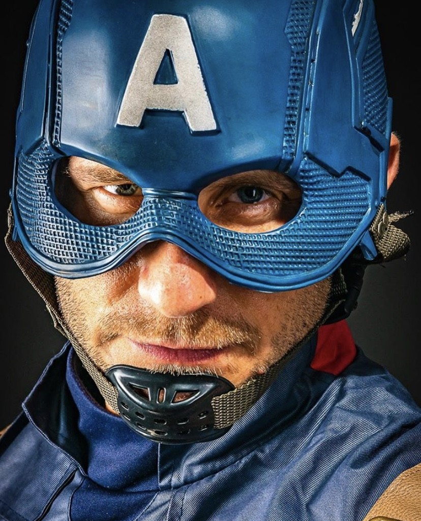 Captain America Close up