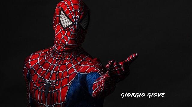 SpiderMan photo shoot