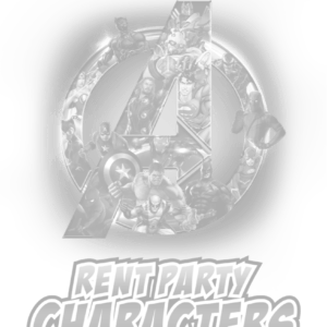 Silver tint logo of Rent Party Characters
