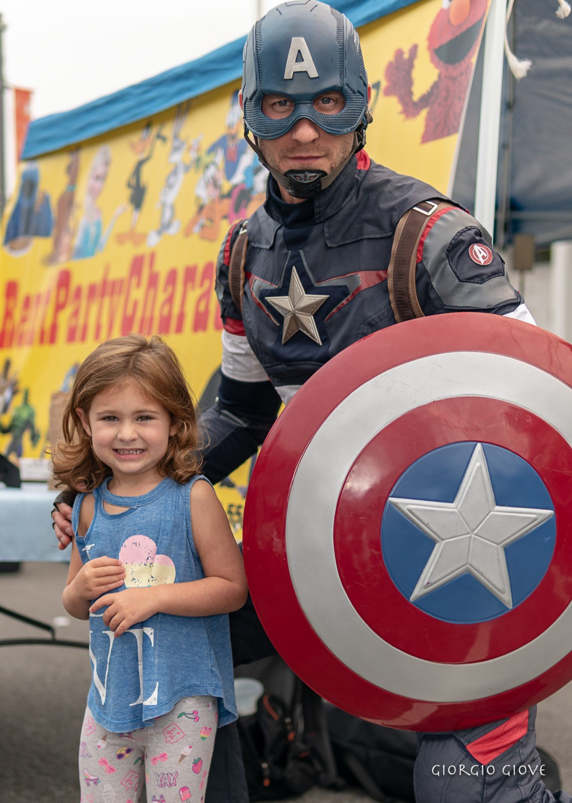 everyone loves Captain America