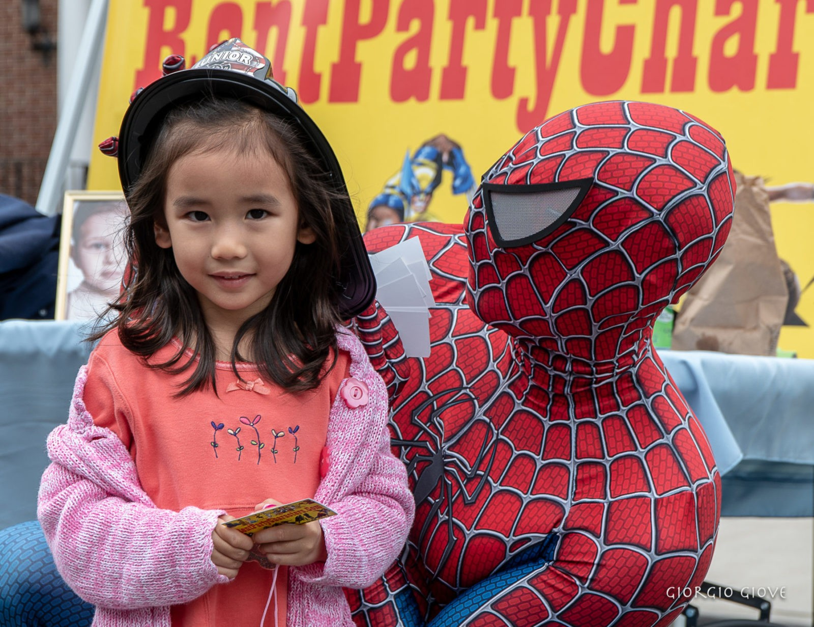Spider man and little fire woman