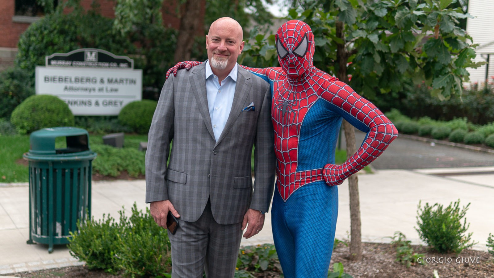 Spider Man and Pastor Terry