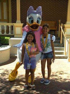 Daisy Duck at birthday party