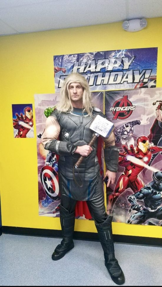 Thor birthday party