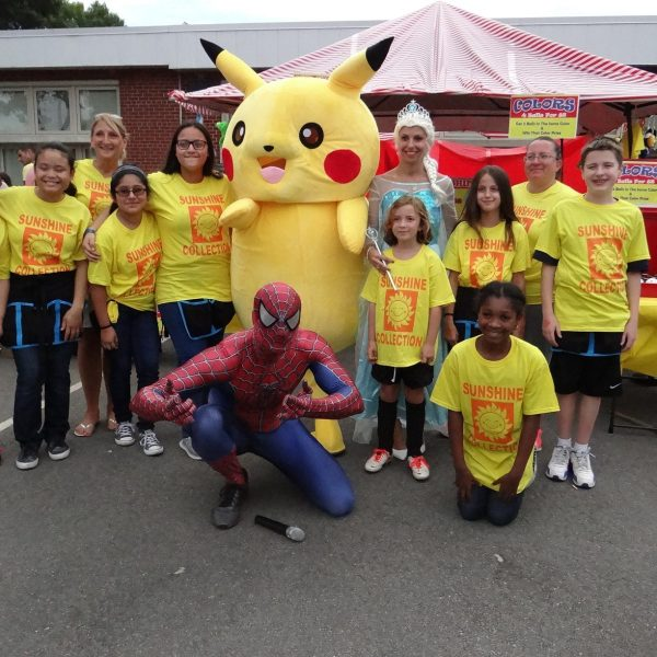 Frozen Princess Elsa, Pikachu,Spiderman