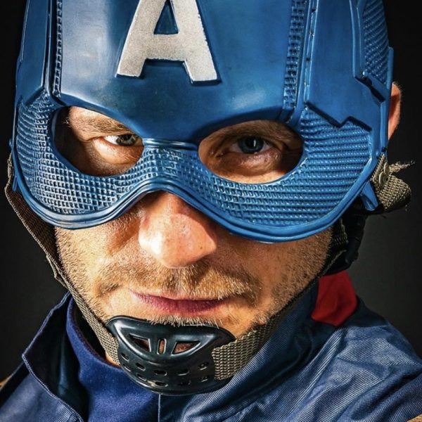 Captain America Close up