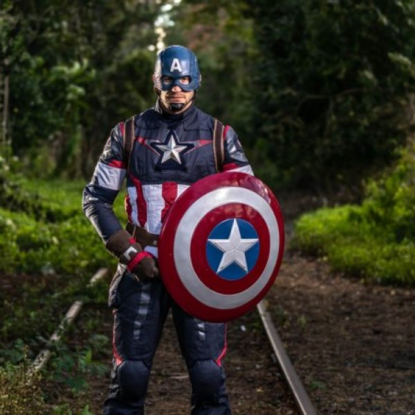 Captain America shoot
