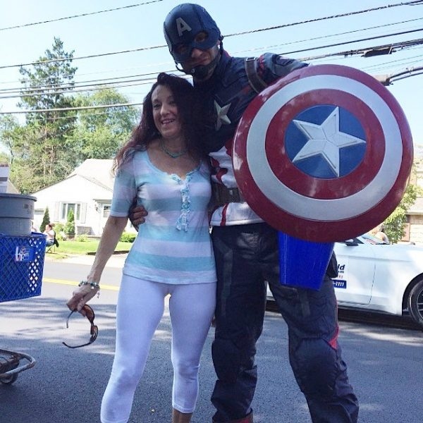 Captain America and Mother