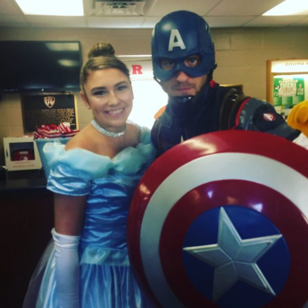 Captain America and Princess
