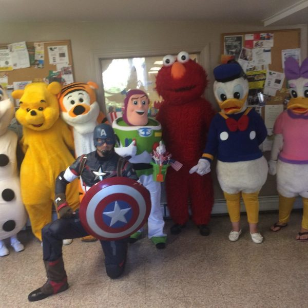 captain-america,Elmo,donald duck,daffy duck,buzz,toy story,winnie the pooh,tony the tiger