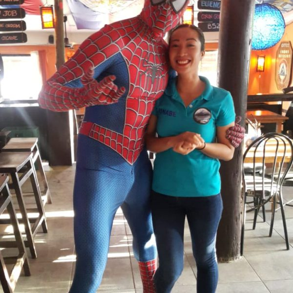 spidey in thte philippines
